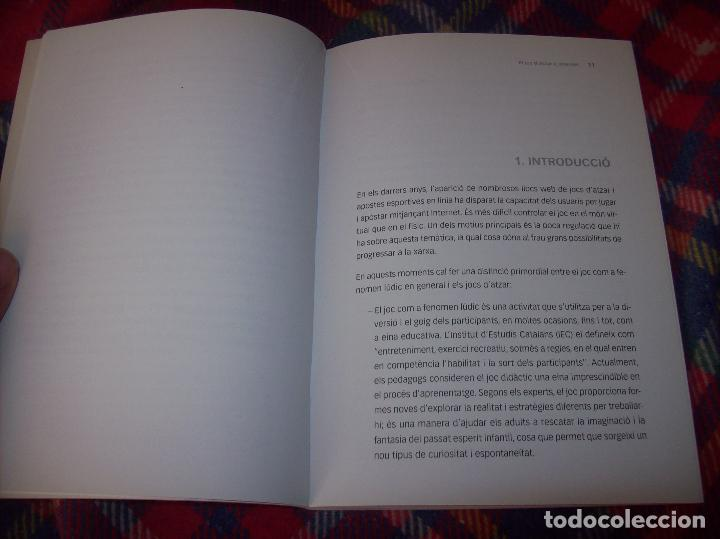 Libros de segunda mano: EL JOC DATZAR A INTERNET. MARIA ROSA MARTORELL / ANA MARÍA CARDELL. IMP. POLITÈCNICA . 2011. FOTOS. - Foto 7 - 121938391