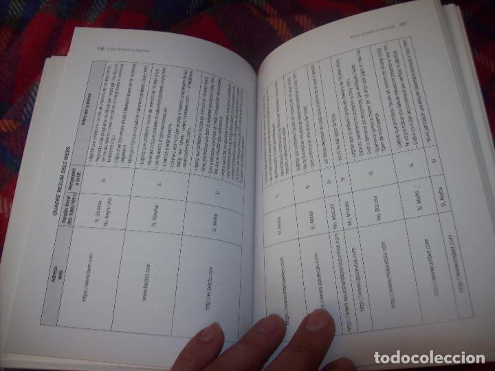 Libros de segunda mano: EL JOC DATZAR A INTERNET. MARIA ROSA MARTORELL / ANA MARÍA CARDELL. IMP. POLITÈCNICA . 2011. FOTOS. - Foto 10 - 121938391