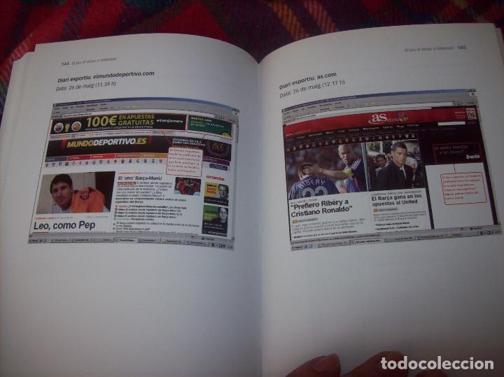 Libros de segunda mano: EL JOC DATZAR A INTERNET. MARIA ROSA MARTORELL / ANA MARÍA CARDELL. IMP. POLITÈCNICA . 2011. FOTOS. - Foto 14 - 121938391