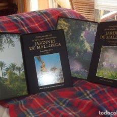 Libros de segunda mano: JARDINES DE MALLORCA.TRADICIÓN Y ESTILO. DOS TOMOS. DONALD G. MURRAY / JAUME LLABRÉS. OLAÑETA. 1990. Lote 145147193