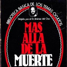 Libros de segunda mano: BIBLIOTECA BASICA DE LOS TEMAS OCULTOS. DR. GIMENEZ DEL OSO. TOMOS 01 Y 15. 1980 UVE. Lote 121957423