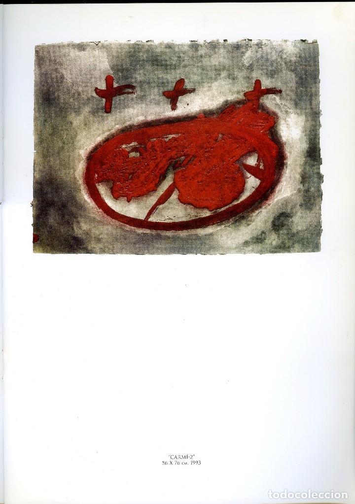 Libros de segunda mano: ANTONI TAPIES. CATÁLOGO DE LA GALERÍA MARGARITA SUMMERS. - Foto 4 - 121958291