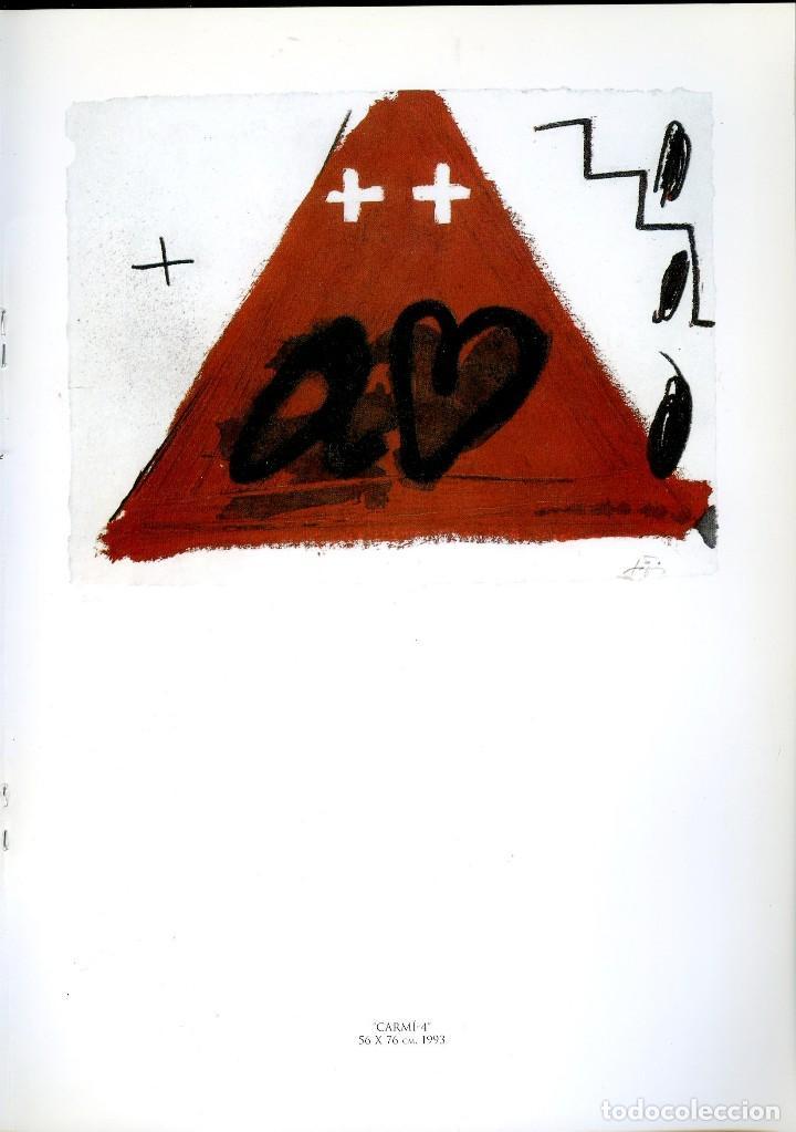 Libros de segunda mano: ANTONI TAPIES. CATÁLOGO DE LA GALERÍA MARGARITA SUMMERS. - Foto 5 - 121958291