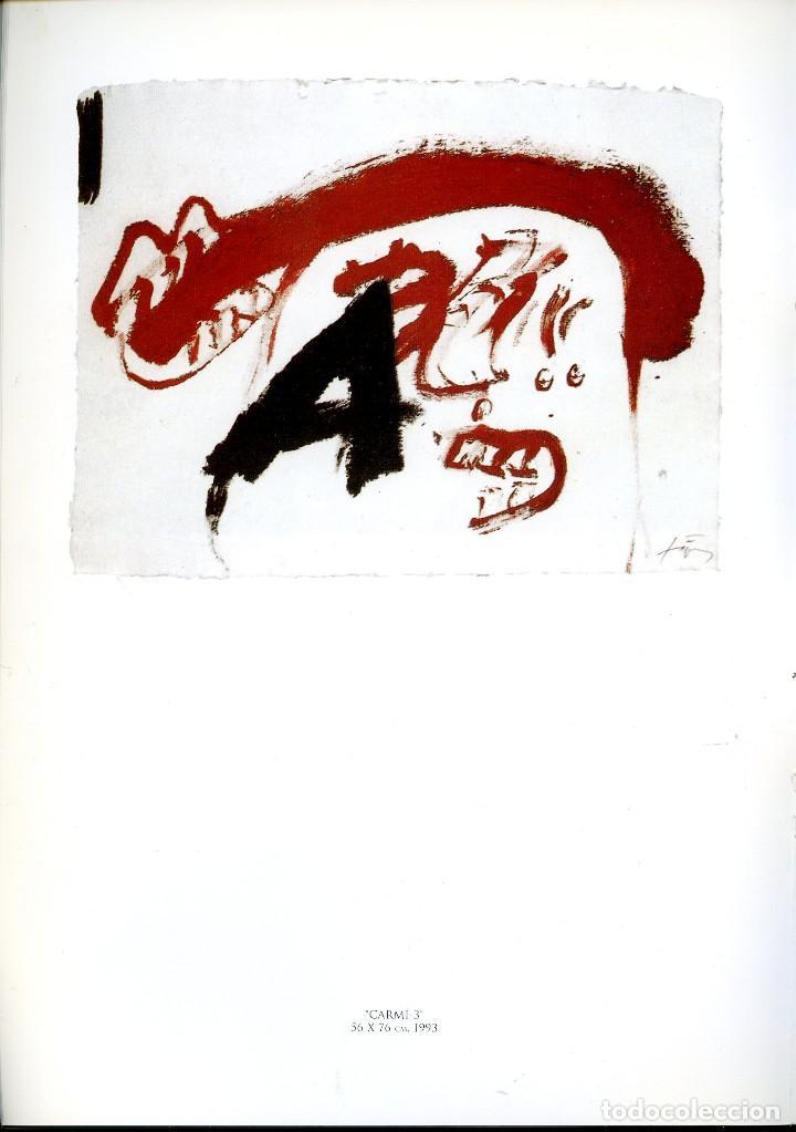 Libros de segunda mano: ANTONI TAPIES. CATÁLOGO DE LA GALERÍA MARGARITA SUMMERS. - Foto 6 - 121958291