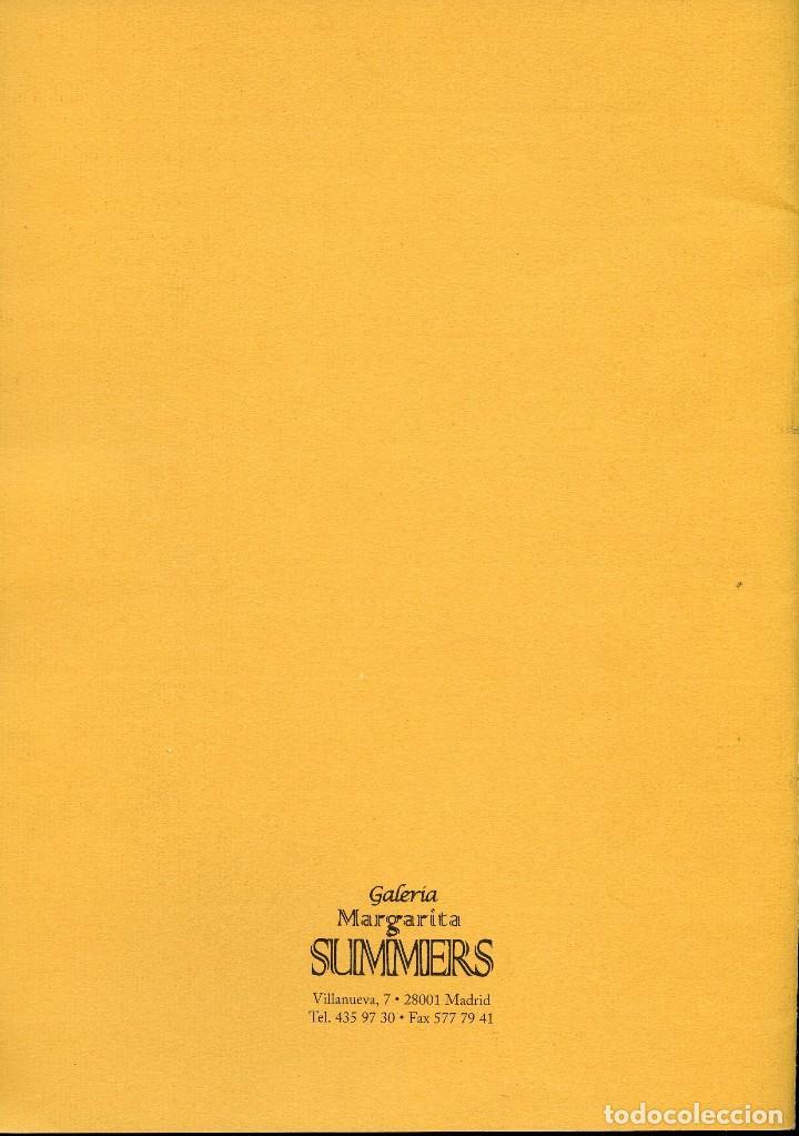 Libros de segunda mano: ANTONI TAPIES. CATÁLOGO DE LA GALERÍA MARGARITA SUMMERS. - Foto 8 - 121958291