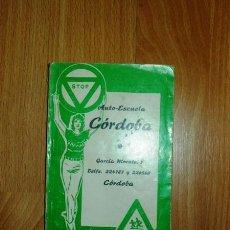 Libros de segunda mano: AUTO-ESCUELA CÓRDOBA. LECCIONES PROGRAMADAS DE NORMAS Y SEÑALES DE CIRCULACIÓN. Lote 121963507
