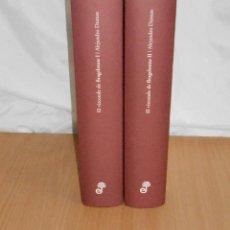 Libros de segunda mano: ALEJANDRO DUMAS, EL VIZCONDE DE BRAGELONNE (2 TOMOS, COMPLETA) · EDHASA, 2008. Lote 121998043