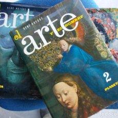 Libros de segunda mano: EL ARTE Y EL HOMBRE 3 VOLÚMENES . Lote 122079727