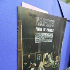 Libros de segunda mano: VELÁZQUEZ PINTOR DE PINTORES. EXPOSICIÓN DEL MUSEO DEL PRADO . Lote 122085319