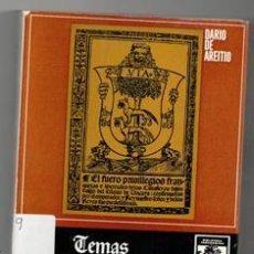 Libros de segunda mano: TEMAS HISTÓRICOS VASCOS, DARIO DE AREITIO. Lote 122109092