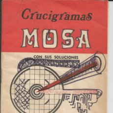 Libros de segunda mano: CRUCIGRAMAS MOSA - Nº 192 - MADRID 1979. Lote 122148471