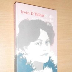Libros de segunda mano: EL DÍA QUE NIETZCHE LLORÓ, IRVIN D. YALOM · DESTINO , 2010. Lote 122168315