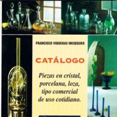 Libros de segunda mano: CATALOGO PIEZAS DE CRISTAL PORCELANA Y LOZA TIPO COMERCIAL DE USO COTIDIANO AÑOS 1900 A 1936, FRANCI. Lote 122190155