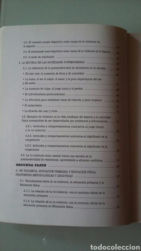 Libros de segunda mano: No violencia en el deporte y en la vida. Guía para docentes y personas interesadas. - Foto 3 - 122213191