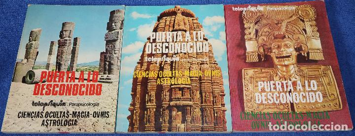 PUERTA A LO DESCONOCIDO - LIBRO REVISTA - TOMOS 1 Y 2 (NÚMEROS DEL 1 AL 6) (Libros de Segunda Mano - Parapsicología y Esoterismo - Otros)