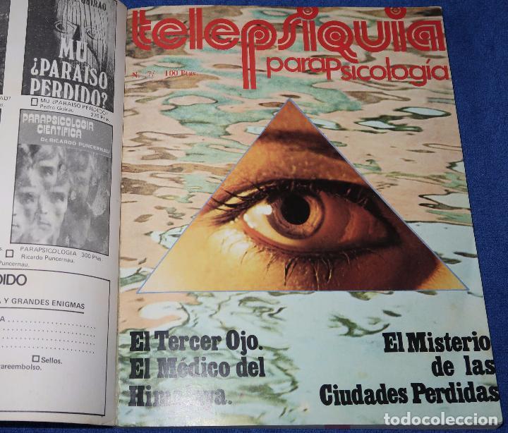 Libros de segunda mano: Puerta a lo desconocido - Libro revista - Tomos 1 y 2 (números del 1 al 6) - Foto 2 - 45440424