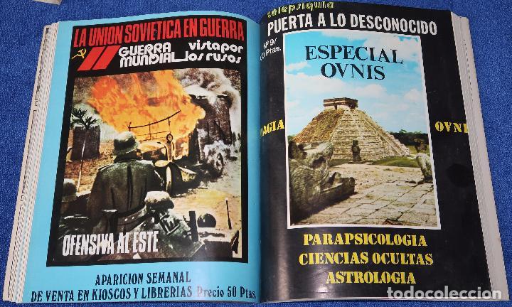 Libros de segunda mano: Puerta a lo desconocido - Libro revista - Tomos 1 y 2 (números del 1 al 6) - Foto 4 - 45440424