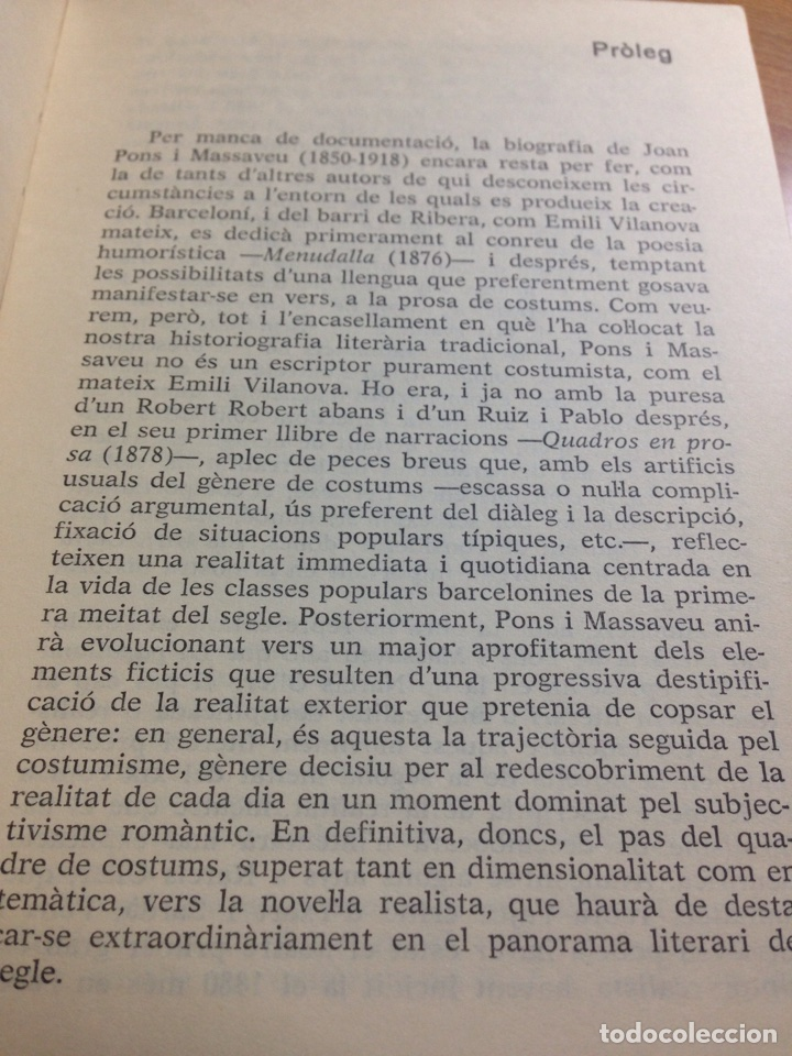 Libros de segunda mano: Joan Pons i Massaveu. Episodis populars catalans (a cura dO. Pi de cabanyes). - Foto 5 - 161184865