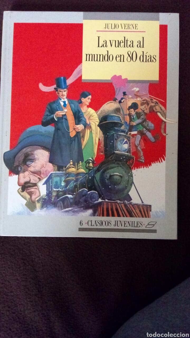 LA VUELTA AL MUNDO EN 80 DÍAS. JULIO VERNE. (Libros de Segunda Mano - Literatura Infantil y Juvenil - Otros)