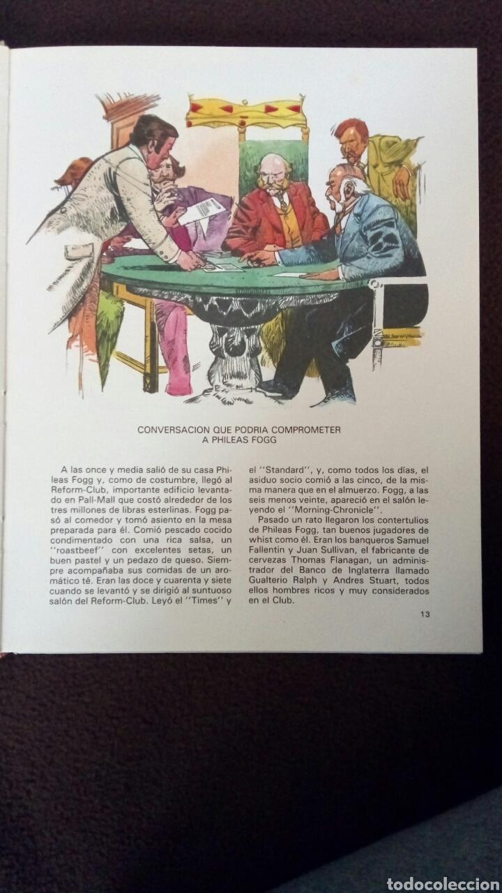 Libros de segunda mano: La vuelta al mundo en 80 días. Julio Verne. - Foto 2 - 122256728