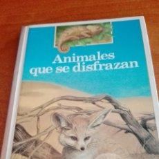 Libros de segunda mano - C62 ALTEA BENJAMÍN INFORMACIÓN ANIMALES QUE SE DISFRAZAN - 122260314