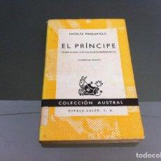 Libros de segunda mano: MAQUIAVELO. EL PRÍNCIPE. Nº 69. AÑO 1970. Lote 122277691