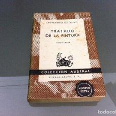 Libros de segunda mano: LEONARDO DE VINCI. TRATADO DE LA PINTURA. Nº 650. AÑO 1964. Lote 122277891