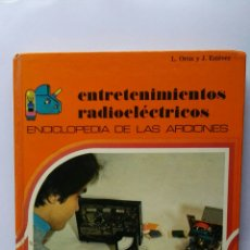 Libros de segunda mano: ENTRETENIMIENTOS RADIOELÉCTRICOS. Lote 122290500
