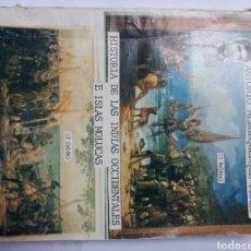 Libros de segunda mano: HISTORIA ESPAÑA XVI HISTORIA DE LAS INDIAS OCCIDENTALES E ISLAS MOLUCAS ANTONIO ALBURQUERQUE PÉREZ. Lote 122450623