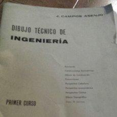Libros de segunda mano: DIBUJO TÉCNICO DE INGENIERÍA. Lote 122470664