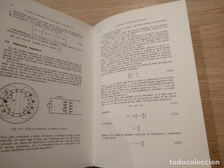 Libros de segunda mano: CURSO MODERNO DE MAQUINAS ELECTRICAS ROTATIVAS. MANUEL CORTES. TOMO I. LA MAQUINA ELECTRICA - Foto 2 - 122489291