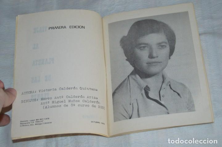 Libros de segunda mano: VINTAGE - VIAJE AL PLANETA DE LAS FLORES - OCTUBRE 1978 - VICTORIA CALDERÓN QUINTANA - ENVÍO 24H - Foto 5 - 122560539