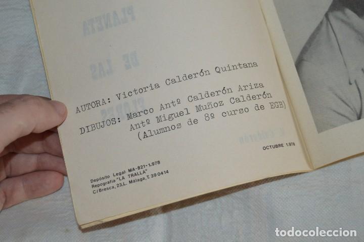 Libros de segunda mano: VINTAGE - VIAJE AL PLANETA DE LAS FLORES - OCTUBRE 1978 - VICTORIA CALDERÓN QUINTANA - ENVÍO 24H - Foto 6 - 122560539