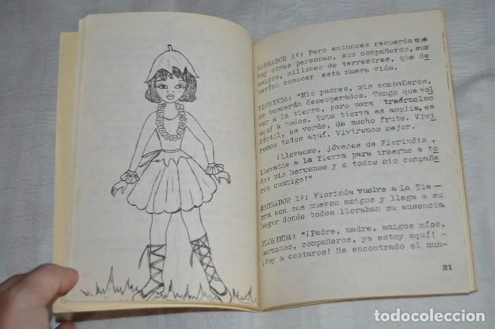 Libros de segunda mano: VINTAGE - VIAJE AL PLANETA DE LAS FLORES - OCTUBRE 1978 - VICTORIA CALDERÓN QUINTANA - ENVÍO 24H - Foto 9 - 122560539