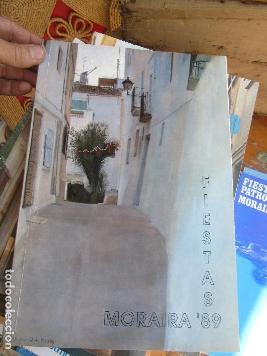 LIBRO MORAIRA FIESTAS 1989 ART-548-258 (Libros de Segunda Mano - Bellas artes, ocio y coleccionismo - Otros)