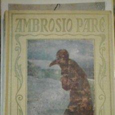 Libros de segunda mano: AMBROSIO PARÉ (BARCELONA, 1932) COLECCIÓN ARALUCE Nº 23. Lote 122707811