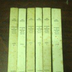 Libros de segunda mano: DICC. HISTº DE LOS MÁS ILUSTRES PROFESORES DE LAS BELLAS ARTES EN ESPAÑA. 6 VOLS. 1965. SIN USAR. Lote 122727431