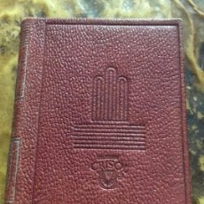 Libros de segunda mano: CRISOLIN ORIGINAL Nº 04. AZORIN. LA RUTA DE DON QUIJOTE. AÑO 1951. 6X8CM. CRISOL AGUILAR. EN PIEL. . Lote 122757787