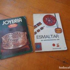 Libros de segunda mano: JOYERIA - ENCICLOPEDIA DE TEMAS BASICOS + ESMALTAR COLECCION COMO HACER. Lote 122920803