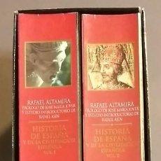 Libros de segunda mano: HISTORIA DE ESPAÑA Y DE LA CIVILIZACIÓN ESPAÑOLA. RAFAEL ALTAMIRA. OBRA COMPLETA 2 TOMOS. CRÍTICA ED. Lote 122923991