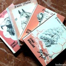 Libros de segunda mano: EMILIO FREIXAS. BARCOS, ANIMALES, CABALLOS,AVES.. Lote 122945418