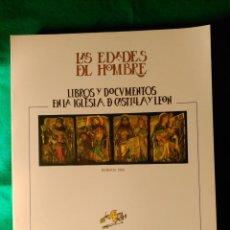 Libros de segunda mano: LAS EDADES DEL HOMBRE - LIBROS Y DOCUMENTOS EN LA IGLESIA DE CASTILLA Y LEON - BURGOS 1990 - NUEVO . Lote 122948587
