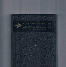 Libros de segunda mano: ALMACENES CASTELLTORT JOSE ROSAS TABERNER AGENDA QUO VADIS 1991. Lote 122967475
