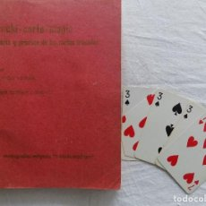 Libros de segunda mano: LIBRERIA GHOTICA. JUAN TAMARIZ/ RAMON VARELA. TEORIA Y PRÁCTICA DE LAS CARTAS TRUCADAS.1970.RARA ED.. Lote 123040663