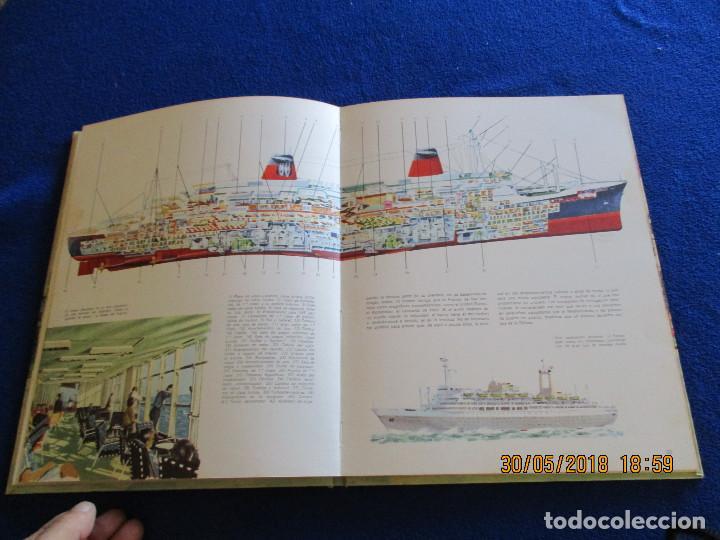 Libros de segunda mano: BARCOS DE HOY Plaza&Janés 1967 Texto Jean Riverain - Foto 8 - 123063075
