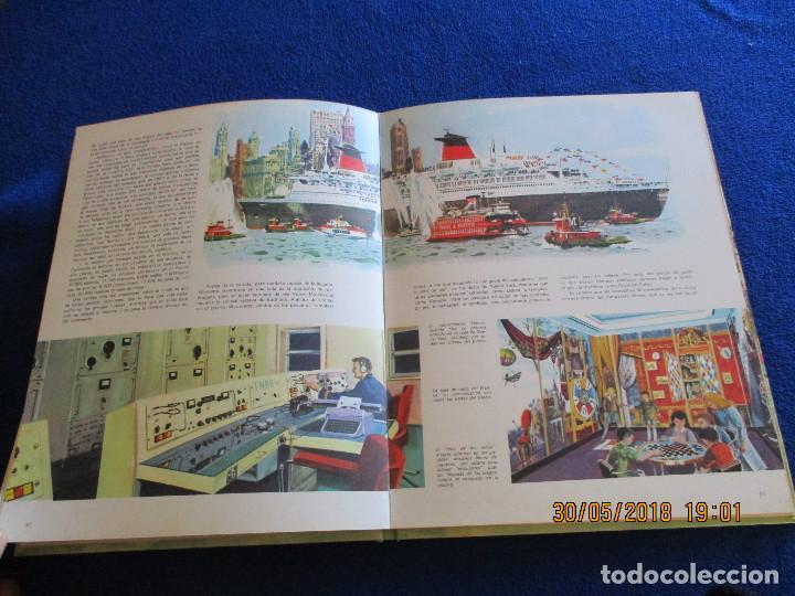 Libros de segunda mano: BARCOS DE HOY Plaza&Janés 1967 Texto Jean Riverain - Foto 13 - 123063075