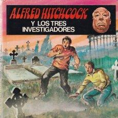 Libros de segunda mano: ALFRED HITCHCOCK Y LOS TRES INVESTIGADORES - MISTERIO DEL LORO TROTAMUNDO 1981. Lote 123099295