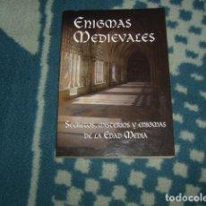 Libros de segunda mano: ENIGMAS MEDIAVALES . PILAR MARZAC. Lote 123127059