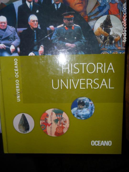 HISTORIA UNIVERSAL, VVAA, ED. OCÉANO (Libros de Segunda Mano - Historia - Otros)