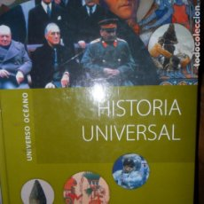Libros de segunda mano: HISTORIA UNIVERSAL, VVAA, ED. OCÉANO. Lote 123206911